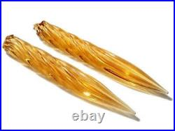 10 pairs vintage amber topaz ink dip dipping Fountain pen nibs calligraphy