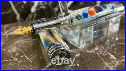 Absolutely Stunning Alligator Jaw Bone Fountain Pen Hand Made by HTC Creations