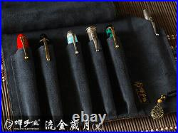 As Time Goes By(Black) 5+1 Chan's Handmade fountain pen