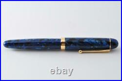Authentic Handmade Fountain Pen Onishi Manufacturing Co. Ltd. Blue