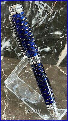 Beautiful Acrylic-Encased Pinecone Fountain Pen Hand Made by HTC Creations