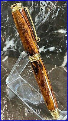 Beautiful Sonoran Desert Ironwood Fountain Pen Handmade by HTC Creations