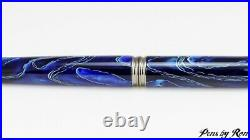 Beautiful mesh resin on a handcrafted fountain pen with gun metal accents