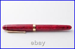 Fountain Pen Handmade Onishi Manufacturing Co. Ltd. Red