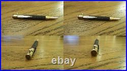 Fountain pen-bullet-cartridge. Handmade