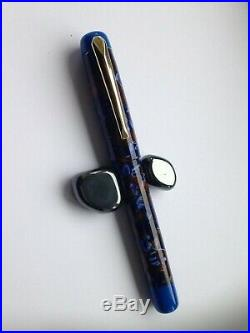 Fountain pen, hand made in Conway Stewart Acrylic