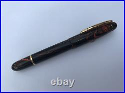 Fountain pen, hand made in Ebonite