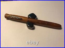 Fountain pen, hand made in Rosewood
