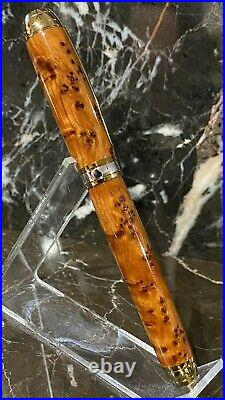 Gorgeous Thuya Burl Wood Fountain Pen by HTC Creations