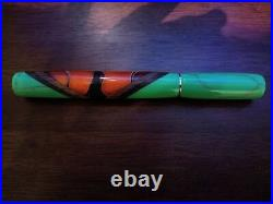 Hand Made Beautiful Monarch Butterfly Closed End Design Fountain Pen