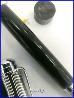 Hand-Made Fountain Pen Black Buffalo