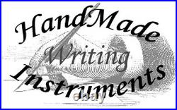 HandMade Writing Pen Ball Point Fountain Bethlehem Olivewood ART Pens VIDEO 1091
