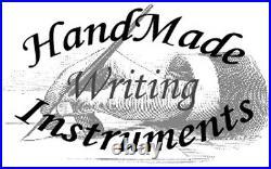 HandMade Writing Pen Ball Point Fountain Black Ash Burl Wood SEE VIDEO 1205a