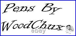 HandMade Writing Pen Ball Point Fountain Maple Burl Wood SEE VIDEO 1201