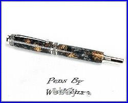 HandMade Writing Pen Ball Point Fountain Mini Pine Cones SEE VIDEO 1200a