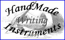 HandMade Writing Pen Fountain Pinecone & Resin Beautiful SEE VIDEO 957a