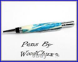 Handmade Alligator Jaw Bone Executive Writing Pen SEE VIDEO 1065