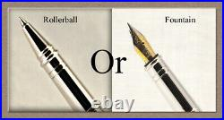 Handmade Bethlehem Olive Wood Rollerball Or Fountain Pens ART SEE VIDEO 1081