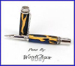 Handmade Cholla Cactus Writing Rollerball Or Fountain Pen ART SEE VIDEO 962a