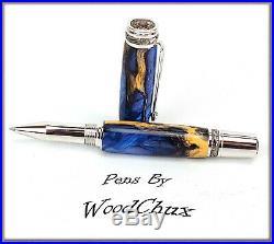 Handmade Cholla Cactus Writing Rollerball Or Fountain Pen ART SEE VIDEO 963a