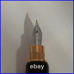 Handmade Fountain Pen Famous Trees Ebony