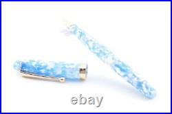 Handmade Fountain Pen Onishi Manufacturing Co. Ltd. Azure