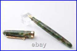 Handmade Fountain Pen Onishi Manufacturing Co. Ltd. Matcha
