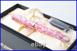 Handmade Fountain Pen Onishi Manufacturing Co. Ltd. Pink