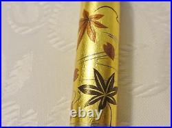 Handmade Japanese golden Makie fountain Pen Spring and Autumn