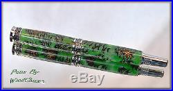 Handmade Mini Pine Cone Writing Rollerball Or Fountain Pen Art SEE VIDEO 578A