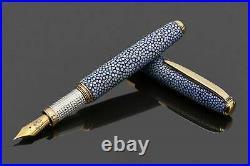 Handmade Ocean Blue Fountain Pen (Read Description)