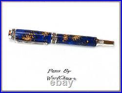 Handmade One Of A Kind Mini Pine Cone Writing Fountain Pen Art SEE VIDEO 855a
