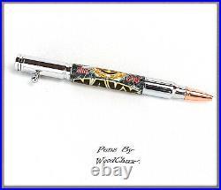 Handmade Pen Navy Deer Hunter Bolt Action Hunting Freedom SEE VIDEO 835