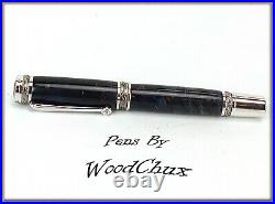 Handmade Pine Cone Writing Rollerball Or Fountain Pen Beautiful SEE VIDEO 961