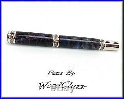 Handmade Pine Cone Writing Rollerball Or Fountain Pen Beautiful SEE VIDEO 961a