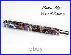 Handmade Stunning Mini Pine Cones Rollerball Or Fountain Pen ART SEE VIDEO 1179a