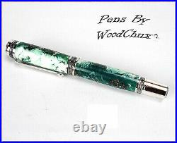 Handmade Stunning Sweet Gum Pods Rollerball Or Fountain Pen ART SEE VIDEO 1220a