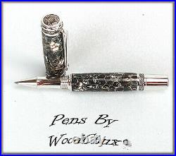Handmade Sweetgum Pod WoodWriting Rollerball Or Fountain Pen SEE VIDEO 1057