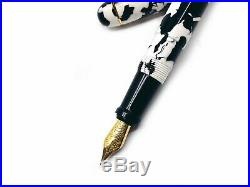 Japan Ohnish Special Edition Handmade Holstein Dairy cow Fountain Pen