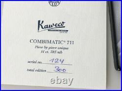 Kaweco Combimatic 711 Limited Edition 124 von 300 Stück Handmade Celluloid