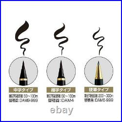 Kuretake Luxury Lacquer Fountain Brush Pen Dream Galaxy Pine/Bamboo/Plum Japan