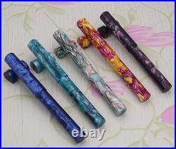 LIY Acrylic Resin Fountain Pen with Gift Box & Pen Pouch Handmade Collection Pen