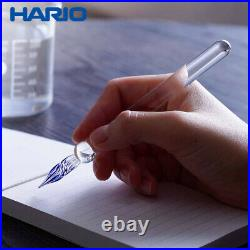 NEW HARIO Glass Fountain Pen GROOM GP-G Japan 5.1 13cm Handmade Japan
