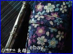 Night Sakura 3-pens Chan's Handmade fountain pen