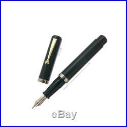 OHASIDO Handmade Coaxial Model Thick Axis Long size Ebonite Fountain Pen