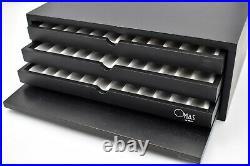OMAS Fountain Pen Collectors Display Cabinet for 36 pens in Black Mob 367