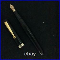 Ohashido Fountain Pen Handmade Lacquered Nib 14K
