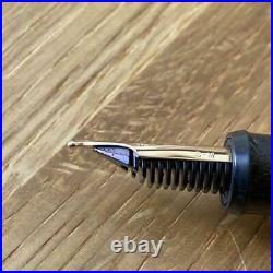 Ohashido Japanese Lacquer Urushi Handmade Fountain Pen 14K Nib/M Used