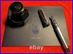 Omas Limited Edition 09/1200 Maserati Fountain Pen Limited To 1200 Pieces