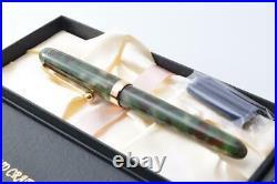 Onishi-Seisakusho Fountain Pen Rare Handmade Matcha Japan Nib Steel Fine